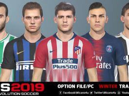 PES 2019 Data Pack 3 0 All In One – DLC 3 0 AIO Download